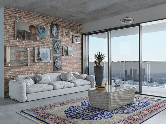 Ideas para decorar la pared detrás del sofá