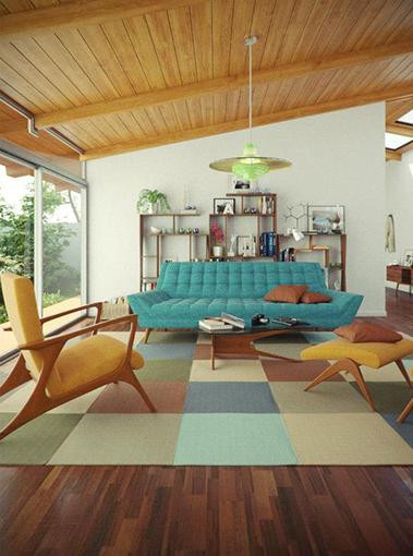 ¿Cómo decorar con sofás y butacas vintage?