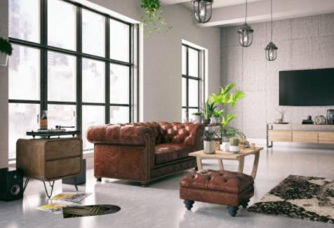 Ideas de Decoración del Salón Vintage Moderno