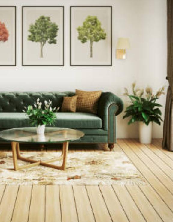 ¿Cómo decorar el salón con un sofá chester?